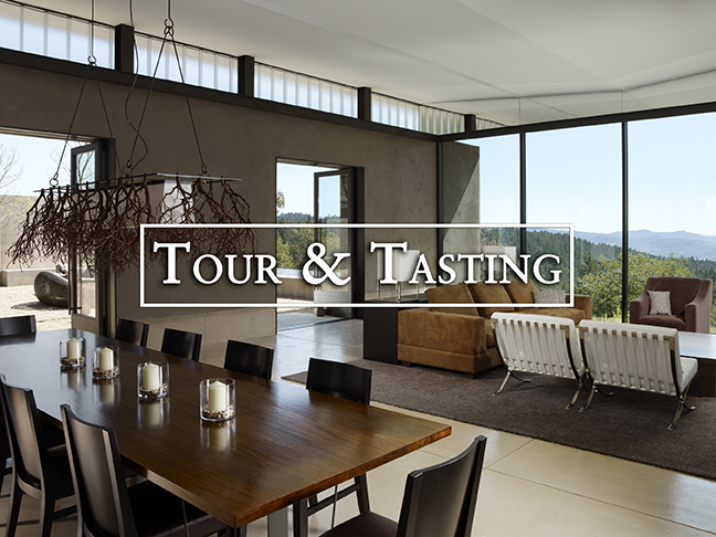 Wine Tasting Room with View