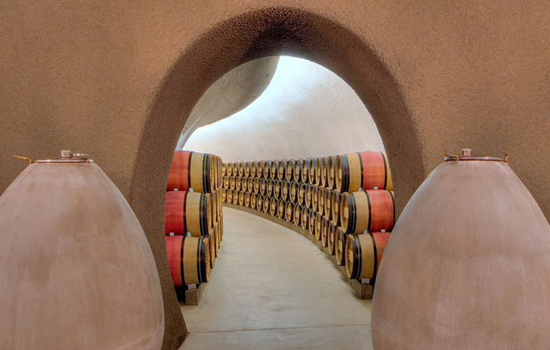 Wine Cave Entrance